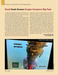 Marine Technology Magazine, page 56,  Oct 2016