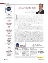 Marine Technology Magazine, page 4,  Oct 2016