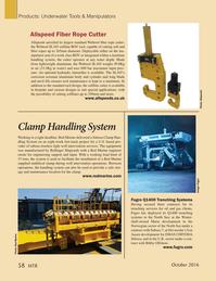 Marine Technology Magazine, page 58,  Oct 2016