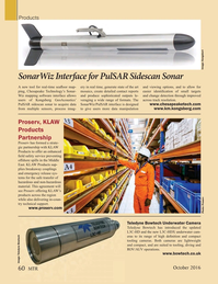 Marine Technology Magazine, page 60,  Oct 2016