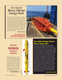 Marine Technology Magazine, page 61,  Oct 2016
