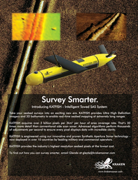 Marine Technology Magazine, page 4th Cover,  Oct 2016