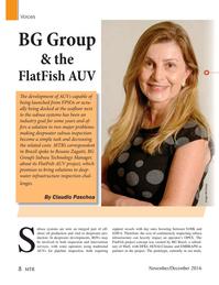 Marine Technology Magazine, page 8,  Nov 2016