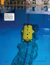 Marine Technology Magazine, page 10,  Nov 2016