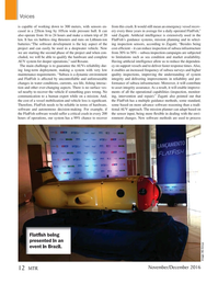 Marine Technology Magazine, page 12,  Nov 2016