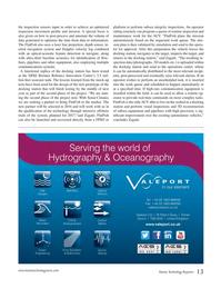 Marine Technology Magazine, page 13,  Nov 2016