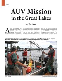 Marine Technology Magazine, page 14,  Nov 2016
