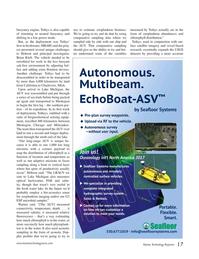 Marine Technology Magazine, page 17,  Nov 2016
