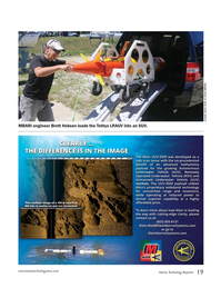 Marine Technology Magazine, page 19,  Nov 2016