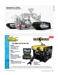 Marine Technology Magazine, page 31,  Nov 2016