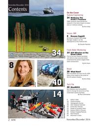 Marine Technology Magazine, page 2,  Nov 2016