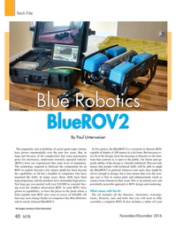Marine Technology Magazine, page 40,  Nov 2016