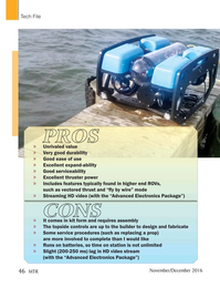 Marine Technology Magazine, page 46,  Nov 2016
