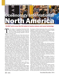 Marine Technology Magazine, page 50,  Nov 2016