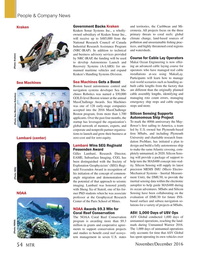 Marine Technology Magazine, page 54,  Nov 2016
