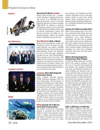 Marine Technology Magazine, page 54,  Nov 2016