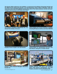 Marine Technology Magazine, page 57,  Nov 2016