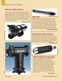 Marine Technology Magazine, page 58,  Nov 2016
