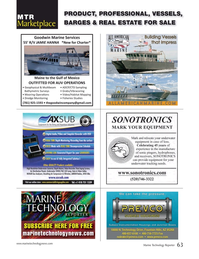 Marine Technology Magazine, page 63,  Nov 2016