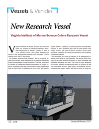 Marine Technology Magazine, page 12,  Jan 2017