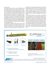 Marine Technology Magazine, page 13,  Jan 2017