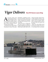 Marine Technology Magazine, page 14,  Jan 2017
