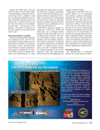 Marine Technology Magazine, page 19,  Jan 2017