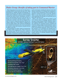 Marine Technology Magazine, page 21,  Jan 2017