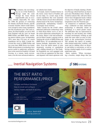 Marine Technology Magazine, page 23,  Jan 2017
