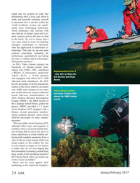 Marine Technology Magazine, page 24,  Jan 2017