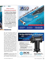 Marine Technology Magazine, page 33,  Jan 2017