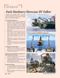 Marine Technology Magazine, page 46,  Jan 2017