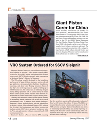 Marine Technology Magazine, page 48,  Jan 2017