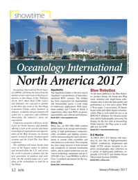 Marine Technology Magazine, page 52,  Jan 2017