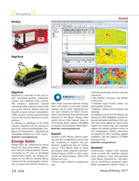 Marine Technology Magazine, page 54,  Jan 2017