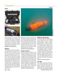 Marine Technology Magazine, page 58,  Jan 2017