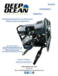 Marine Technology Magazine, page 4th Cover,  Jan 2017