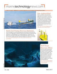 Marine Technology Magazine, page 8,  Mar 2017