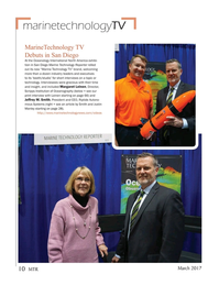 Marine Technology Magazine, page 10,  Mar 2017