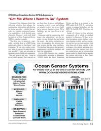 Marine Technology Magazine, page 43,  Mar 2017