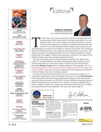 Marine Technology Magazine, page 4,  Mar 2017