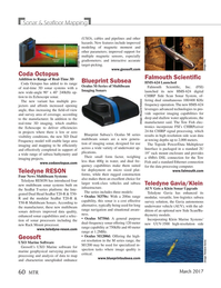 Marine Technology Magazine, page 60,  Mar 2017