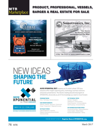 Marine Technology Magazine, page 78,  Mar 2017