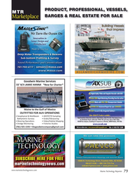 Marine Technology Magazine, page 79,  Mar 2017