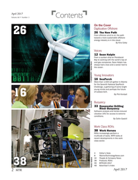 Marine Technology Magazine, page 2,  Apr 2017