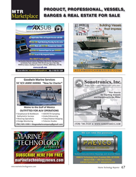 Marine Technology Magazine, page 47,  Apr 2017