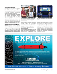 Marine Technology Magazine, page 11,  May 2017