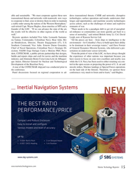 Marine Technology Magazine, page 15,  May 2017
