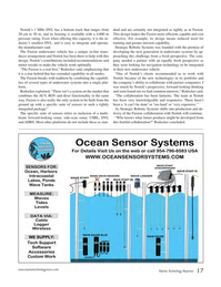 Marine Technology Magazine, page 17,  May 2017