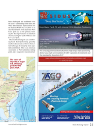 Marine Technology Magazine, page 23,  May 2017